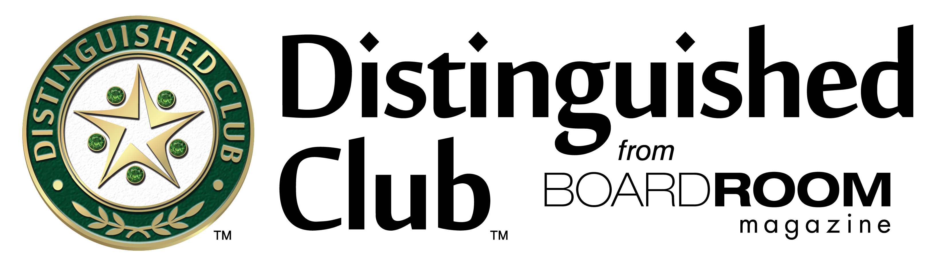 Distinguished Club Official Logo