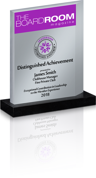 Distinguished Achievement in Leadership